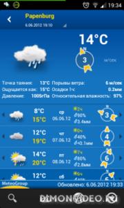 WeatherPro - хит дня в Обменнике!